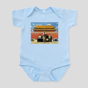 Tiki in Tiananmen Infant Creeper