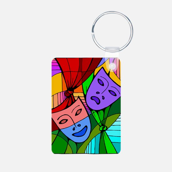 Abstract Masks Keychains