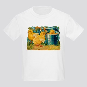 Vintage Easter Chicks Kids T-Shirt