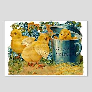 Vintage Easter Chicks Postcards (Package of 8)