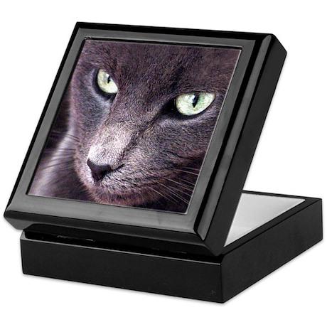Smoky Cat Hinged Box