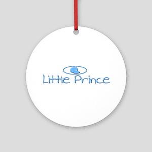 Eli the 'Little Prince' Ornament (Round)