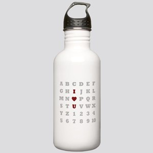 ABC Love Stainless Water Bottle 1.0L