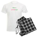 Merry Christmas Men's Light Pajamas