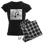 Sweet Tunes Women's Dark Pajamas