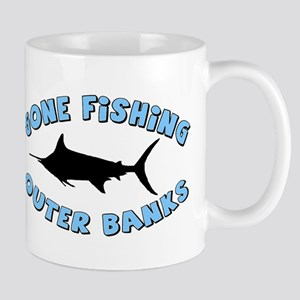 Gone Fishing - Outer Banks Mug