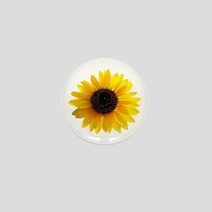 Golden sunflower Mini Button (10 pack)
