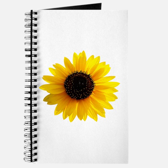 Golden sunflower Journal