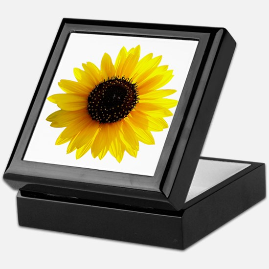 Golden sunflower Keepsake Box