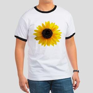 Golden sunflower Ringer T