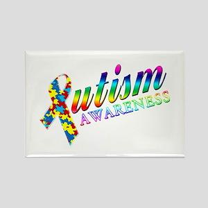 Autism Awareness Rectangle Magnet