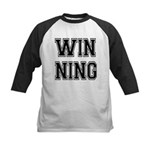 Win-ning Kids Baseball Jersey