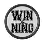 Win-ning Large Wall Clock