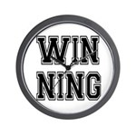 Win-ning Wall Clock