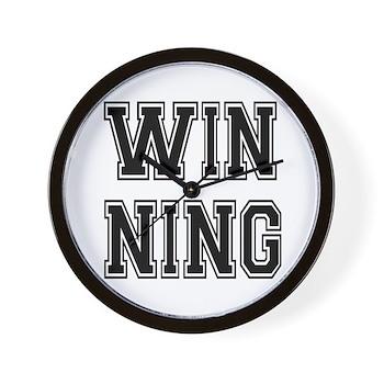 Win-ning Wall Clock