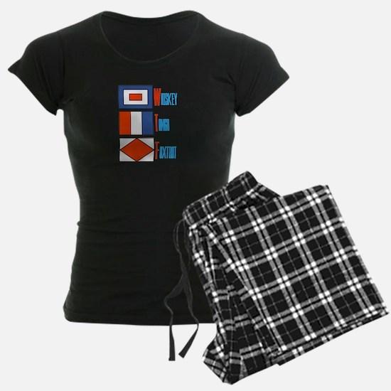 WTF Signal Flags Pajamas