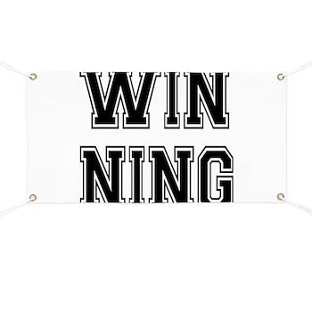 Win-ning Banner