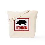 Lechon Tote Bag
