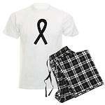 Black Ribbon Men's Light Pajamas
