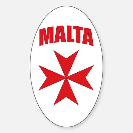 Malta Sticker (Oval)