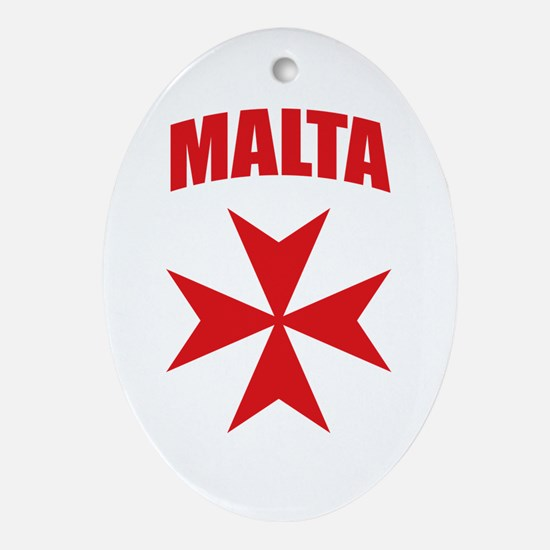 Malta Ornament (Oval)