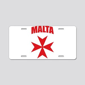 Malta Aluminum License Plate