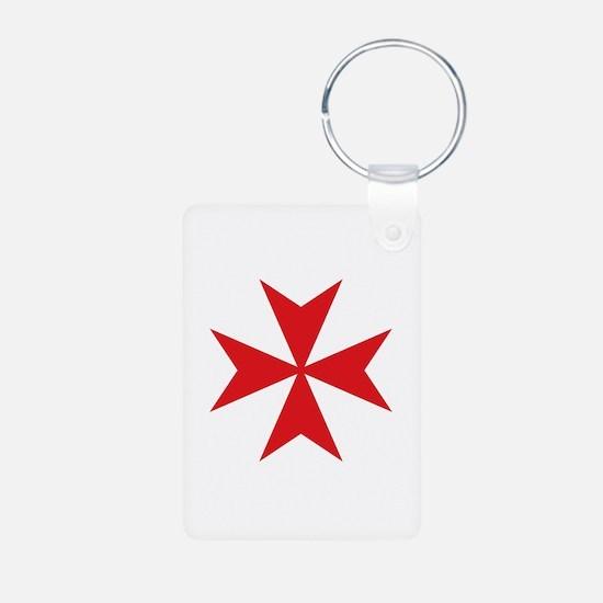 Maltese Cross Keychains