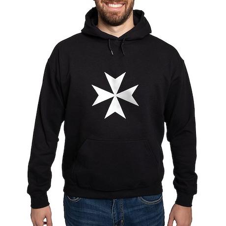 Maltese Cross Hoodie (dark)