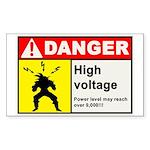 High Voltage Sticker (10 pk)