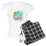 Three Peace Women's Light Pajamas