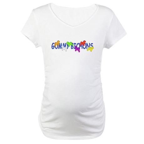 Bichon Frise Maternity T-Shirt