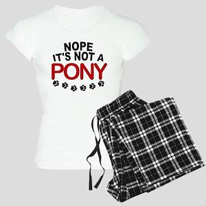 Great Dane Not a Pony Women's Light Pajamas