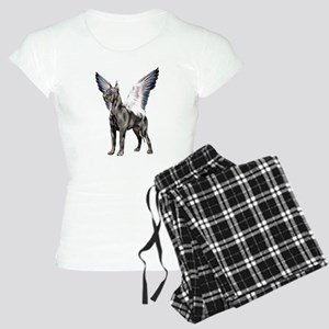 Great Dane Angel Black Women's Light Pajamas