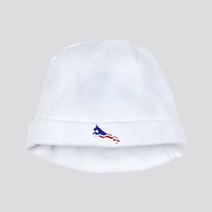 Great Dane Jumper Flag baby hat