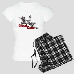 Great Dane Black LB Women's Light Pajamas