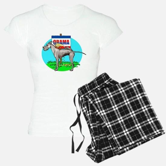Black Dane Pi$$ on Obama Pajamas