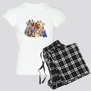 Great Dane Nativity Women's Light Pajamas