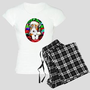Aussie Santa Pup Women's Light Pajamas