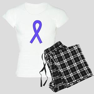 Periwinkle Ribbon Women's Light Pajamas