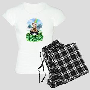 Airedale Pot-O-Gold Women's Light Pajamas