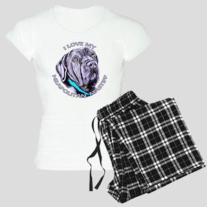 I Love My Neapolitan Mastiff Women's Light Pajamas