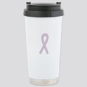 Orchid Ribbon Stainless Steel Travel Mug
