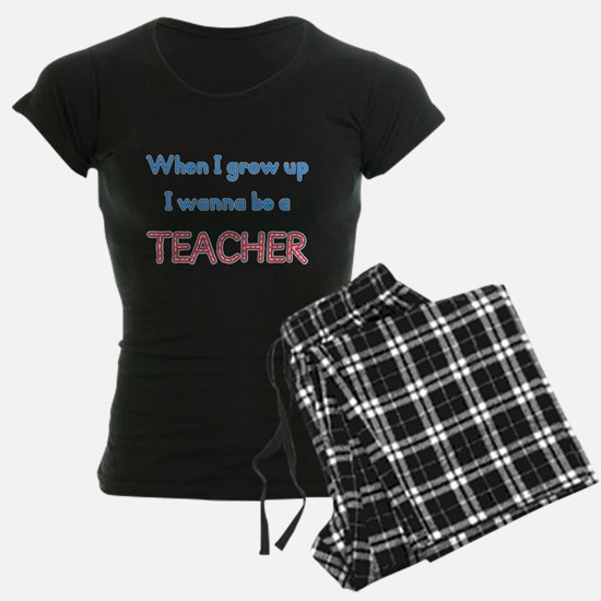 Future Teacher pajamas