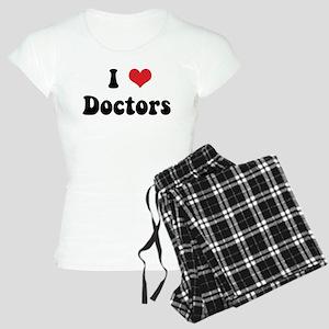 I Love Doctors Women's Light Pajamas