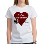 I Love My Goats Women's Classic T-Shirt