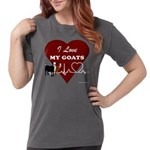 I Love My Goats Womens Comfort Colors® Shirt