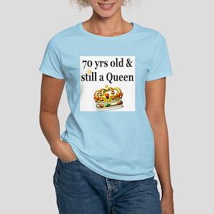 HAPPY 70TH BIRTHDAY Women's Light T-Shirt
