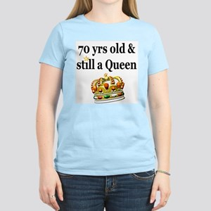 HAPPY 70TH BIRTHDAY Women's Light T-Shirt