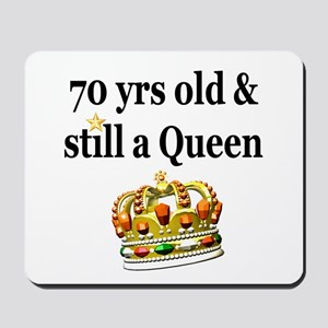 HAPPY 70TH BIRTHDAY Mousepad
