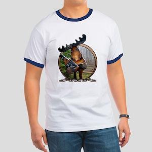 Party Moose Ringer T